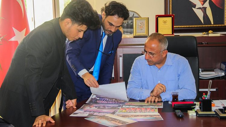 Visited the Assistant of Hatay Governor