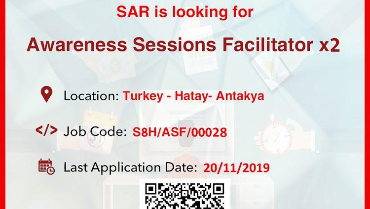 Awareness Sessions Facilitator x2